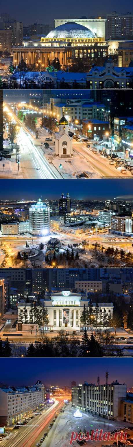 night_in_city: Вечерний Новосибирск