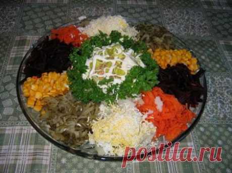 Самые оригинальные рецепты салатов простые