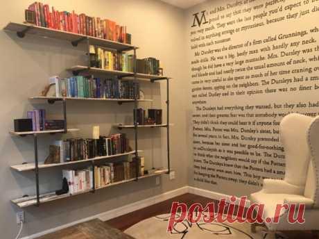 Литературная стена (Diy)