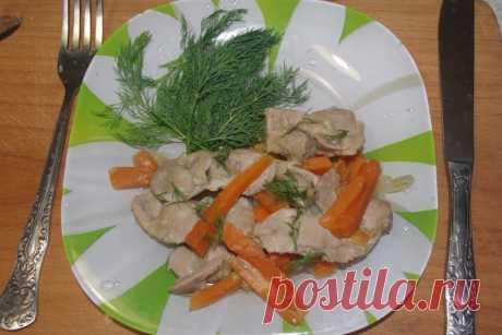 Los estómagos de gallina en la multicocción - las recetas Simples Овкусе.ру