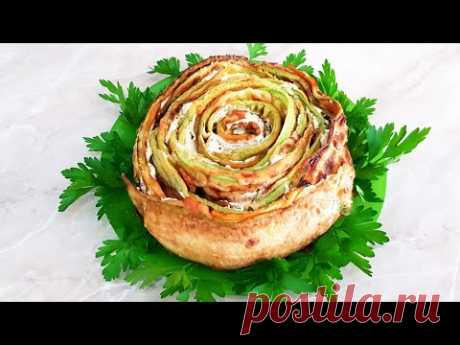 Cei mai gustoşi dovlecei, cu sos de usturoi! Очень вкусные кабачки с чесночным соусом!
