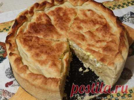 Капустный пирог с молочной капустой
