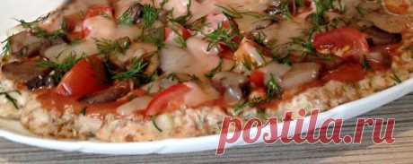Пицца из куриной грудки в духовке - Диетический рецепт ПП с фото - Калорийность БЖУ