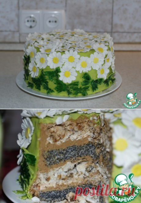 Маковый торт – кулинарный рецепт
