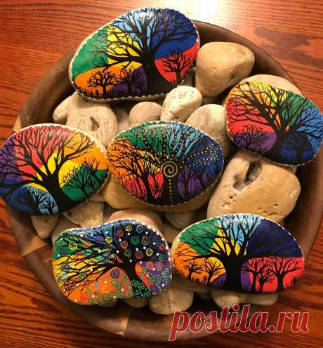 Камни для уюта в доме. ТОП-5 вдохновляющих идей декора из камней. | Юлианна Чехова | Яндекс Дзен