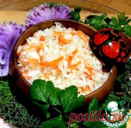 Капуста в маринаде - кулинарный рецепт