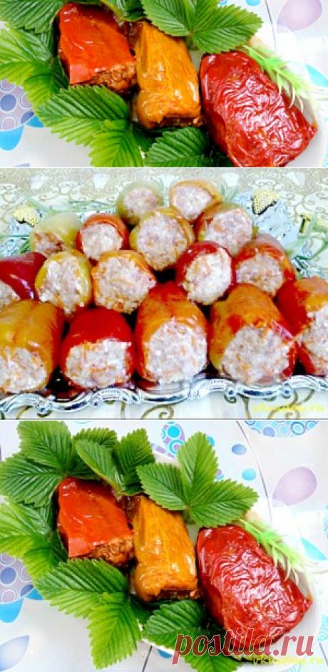 Перец фаршированный   Вкусный день