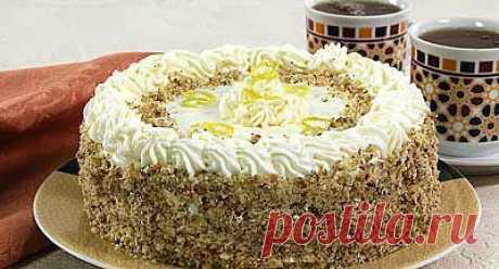 La torta de nuez - la Golosina - las Recetas de cocina Oriental y Caucásica de la foto - Хинкал.ру - Хинкал.ру