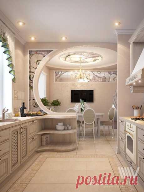 милая кухонька