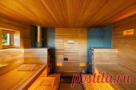 Правильная обработка дерева в бане
