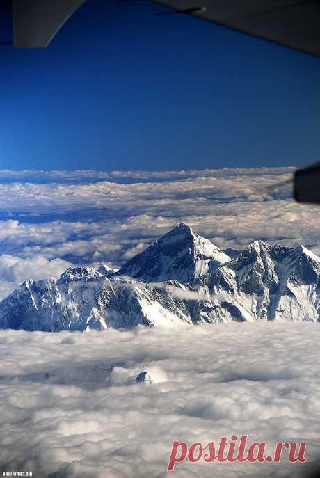 12 кадров со склонов Эвереста, от которых мороз по спине пробирает.