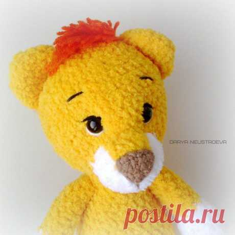 Вязаный львенок крючком амигуруми | Hi amigurumi #схемыамигуруми #амигуруми #вязанаяигрушка #игрушкикрючком #вязаныйлев #amigurumipattern #crochetpattern #amigurumilion #crochetlion