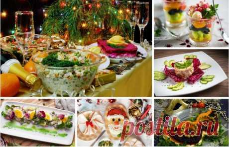 Надоел оливье? Предлагаем простые и красивые салаты для новогоднего стола