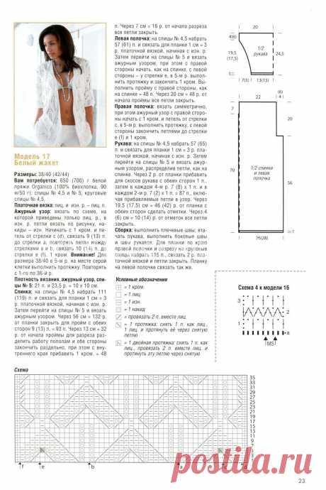 Жакет спицами с описанием и схемами для начинающих, видео - 41 модель