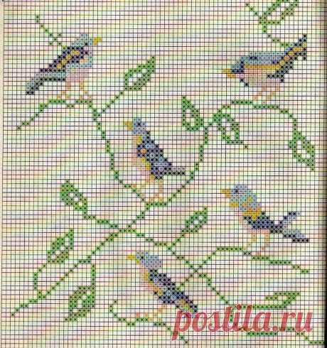 Филейное вязание + вышивка: интересные сочетания для моделей крючком   Левреткоман-оч.умелец   Яндекс Дзен