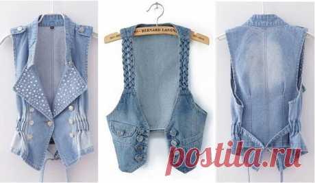 Обновляем гардероб — шьем «эксклюзив» из джинсовых вещей, которые уже не носим!