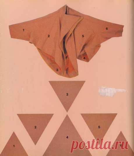 El corte de los triángulos