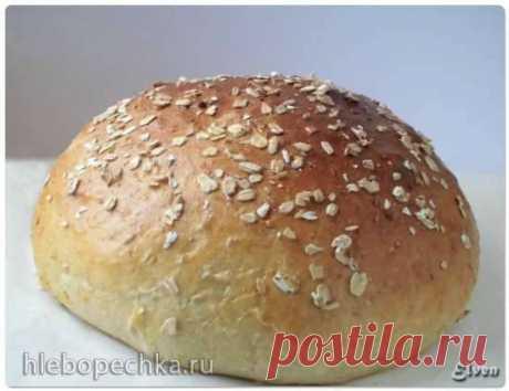 Немецкий картофельный хлеб с геркулесом