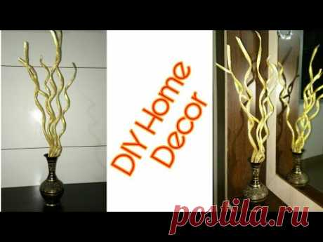 Home decoration ll Newspaper craft ideas  ll DIY home decor idea ll best out of Waste