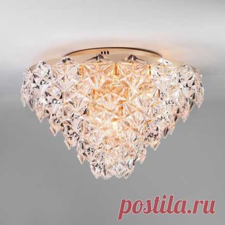 Люстра Bogates ICEBERG 296/12 4690389122071 по цене 30600 – купить в Москве в интернет-магазине / Fandeco.ru