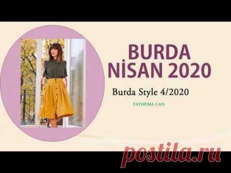 BURDA STYLE 4/2020 / BURDA APRİL 2020 - YouTube