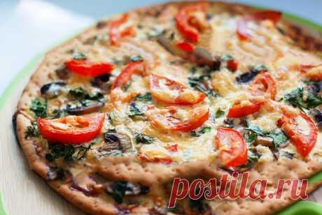 Рецепт - Французская пицца | Пошаговые рецепты