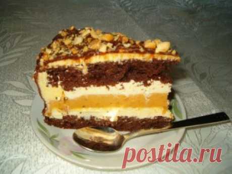 Торт «Снигерс»   Тут еда и лучшие рецепты
