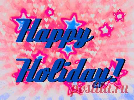 Happy Holiday!  Kostenloses Stock Bild HD - Public Domain Pictures
