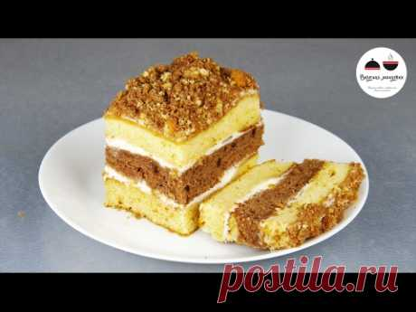ТОРТ со сгущенкой за 30 минут! Простой рецепт вкусного торта  Simple Cake Recipe - YouTube