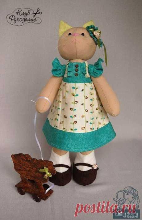 Текстильные игрушки 💚 / Рукоделие