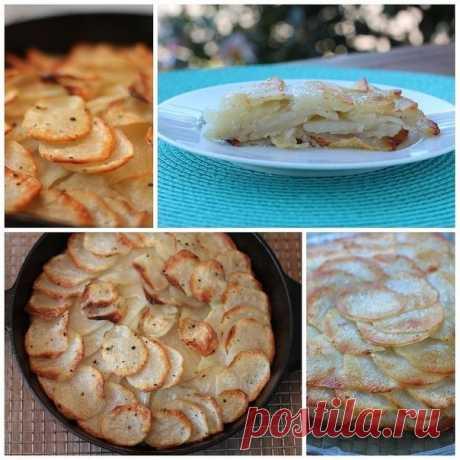 Как приготовить картофель анна - рецепт, ингридиенты и фотографии