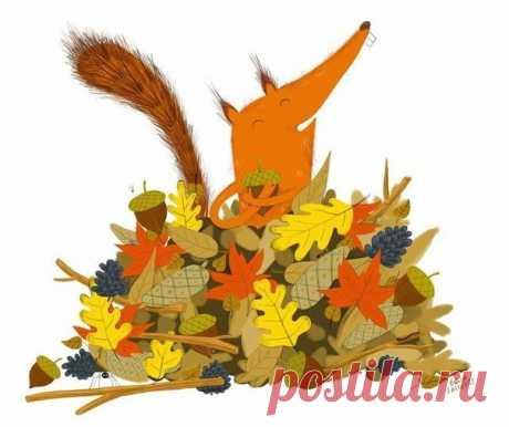 Доброе искусство: осень. Осенний арт. Осень в рисунках. - СЧАСТЬЕ ЕСТЬ! Философия. Мудрость. Книги. — ЖЖ