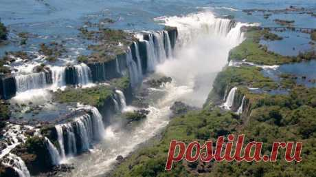 The most beautiful falls of the world
