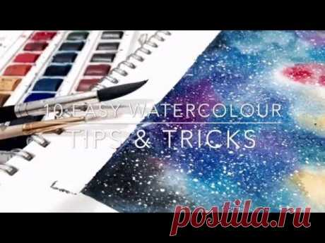 10 Easy Watercolour Tips & Tricks