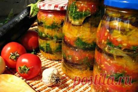 Баклажаны с помидорами и болгарским перцем «Хозяйка в ударе» - Мой сад 🌿