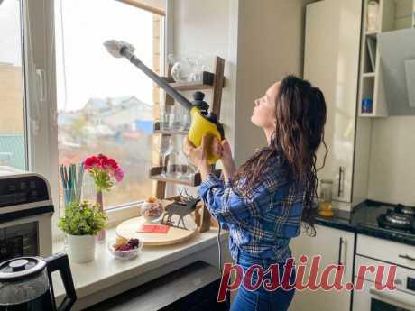 Как я собираюсь отмыть все окна в квартире за 30 минут (мои 3 находки)   Сладкий Персик 🍑   Яндекс Дзен