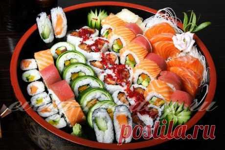 Как правильно заворачивать суши и роллы в домашних условиях