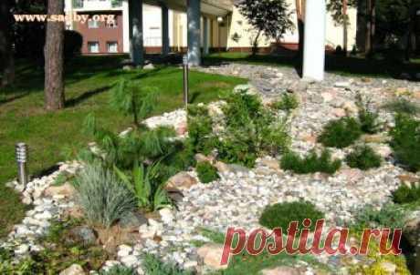 Экономичные способы ландшафтного обустройства небольшого участка Выпуск №29 - Ландшафтный дизайн своими руками - идеи для дизайна сада