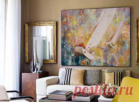 """Картина: """"Регата"""" материал. Холст, масло, акрил Размер 180х120см Цена: 2400$ ПРОДАНА"""