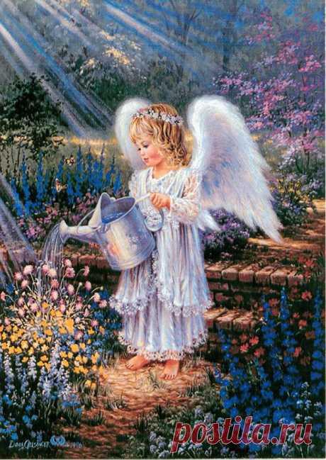 Ангелы в живописи - Звёздный