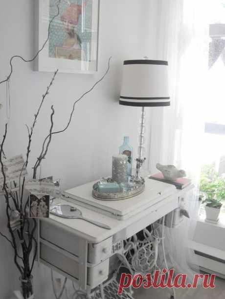 Мебель из старинных швейных машинок / IPv2 - Глобальная информация