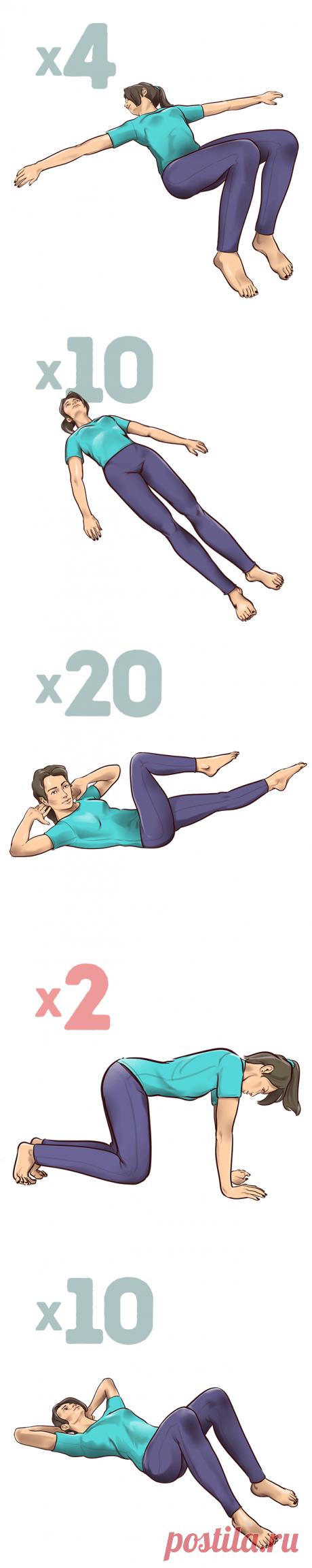 Los ejercicios de 1 minutos al tirante, que le salvarán del dolor en la espalda