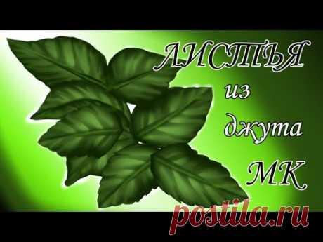 Листья из джута