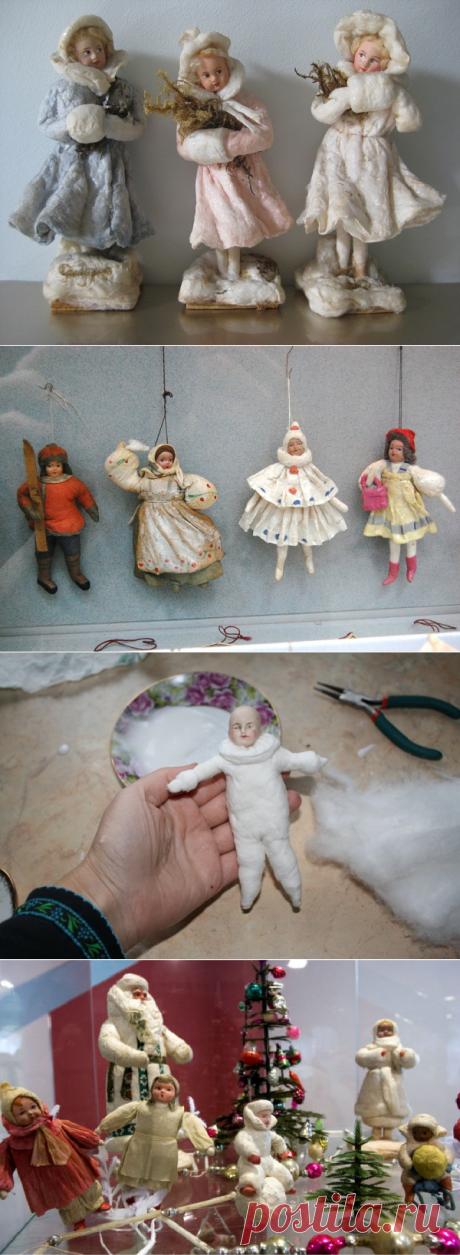 Елочные игрушки своими руками: мастер класс, фото. Как сделать новогодние игрушки на елку для детского сада, на конкурс, для уличной и большой елки?. Новогодние елочные игрушки своими руками из цветной бумаги, из подручных материалов, фетра, лампочек, пластиковых бутылок, ваты, ткани, картона, атласных лент, соленого теста, дисков, пенопласта, шары, петушки