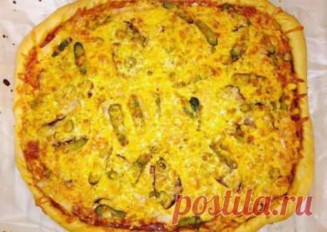 Семейная пицца - пошаговый рецепт с фото. Автор рецепта Мария Мельник . - Cookpad