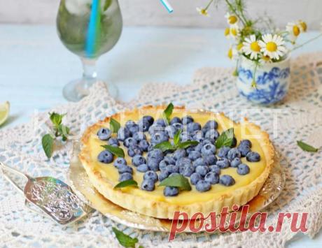 Тарт с лимонным курдом. Пошаговый рецепт с фото • Кушать нетКушать нет