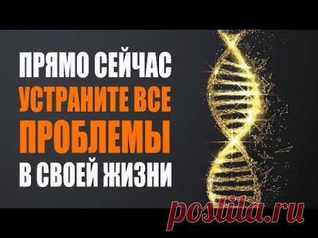 Страдания Закончились! Активируйте Свои Божественные Коды ДНК и Устраните Все Проблемы в Своей Жизни