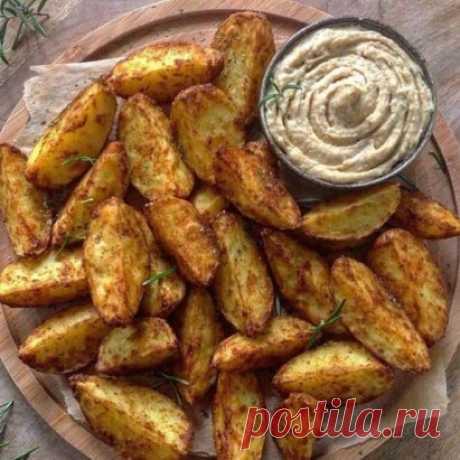 Хрустящий картофель.