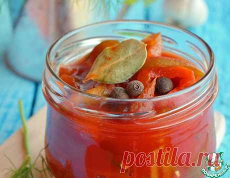 Лечо с томатной пастой – кулинарный рецепт