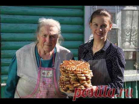 Вафли на старинной вафельнице от Эллы Сидоренко \ Wavel